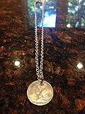 French Cameroun 1 Franc coin necklace