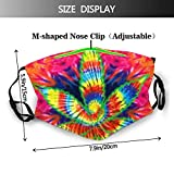Trippy Pot Leaf Marijuana Weed Reusable Face Mask