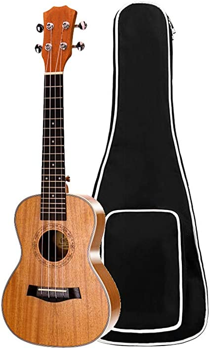 Guitarras Ukulele de caoba de 23 pulgadas, 4 cuerdas, guitarra ...