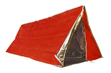 Insulated Emergency Tube Tent Solar Orange Mylar Survival C&ing Shelter Tarp  sc 1 st  Amazon.com & Amazon.com : Insulated Emergency Tube Tent Solar Orange Mylar ...