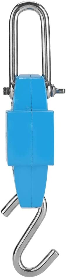 Digitale Kranwaage , Digital Sky Blue 300KG H/ängekranwaage Industrielles Hakengewichtsmessger/ät