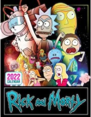 Rick And Morty Calendar 2022: Monthly Photo Planner Of Most-Watched Comedy TV Show For Home Office Decor