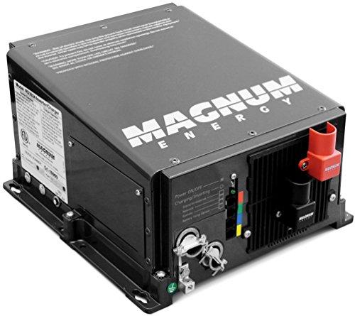 Magnum Energy ME2012 ME-Series 2000W 12VDC Modified Sine Inverter 100 Amp PFC Charger, Easy-to-install, Versatile mounting, Multiple ports, Convenient switches, Expanded transfer relay