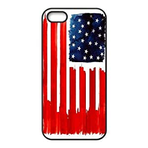 Retro American Flag ZLB526453 Brand New Case for Iphone 5,5S, Iphone 5,5S Case by icecream design