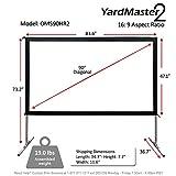 Elite Screens Yard Master 2, 90 inch Outdoor