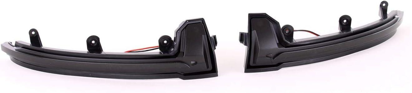 Tenzo-R 37720 Dynamische LED Spiegel Blinker Schwarz Smoke