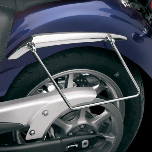 Show Chrome Accessories 55-130 Saddlebag Support Stay (Cruiser Saddlebag Chrome)