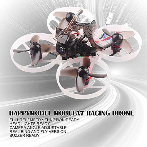 Wikiwand Happymodel Mobula7 75mm 2S Brushless Whoop FPV Racing Drone Basic Version by Wikiwand (Image #6)
