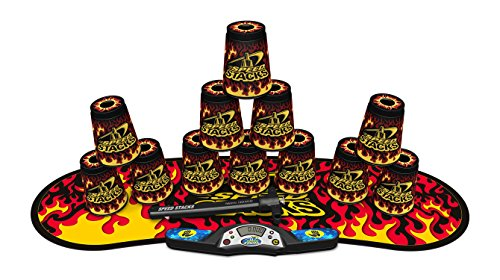SPEED STACKS Competitor - Black Flame (Sport Stacking / Cup Stacking) by Speed Stacks