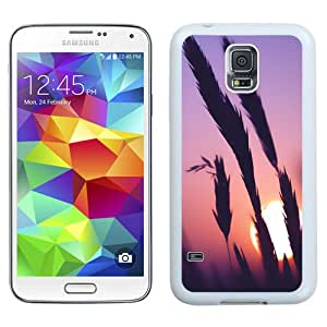 New Beautiful Custom Designed Cover Case For Samsung Galaxy S5 I9600 G900a G900v G900p G900t G900w With Sunset Time (2) Phone Case