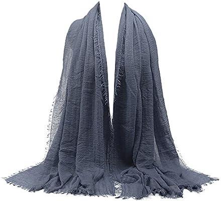 Women Voile Beautiful Silver Mustache Print Stole Neck Warm Scarf Shawl Wrap UK