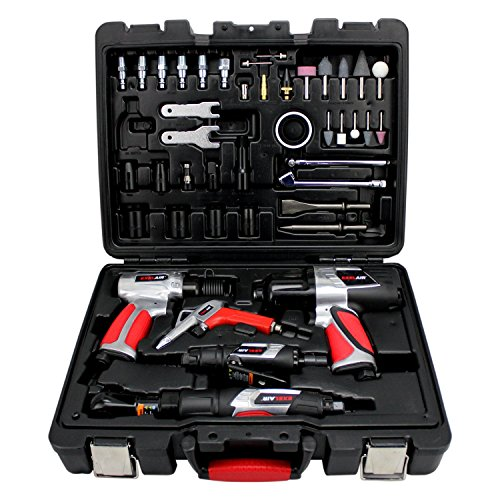 44 Piece Professional Air Tool Kit by EXELAIR (Image #1)