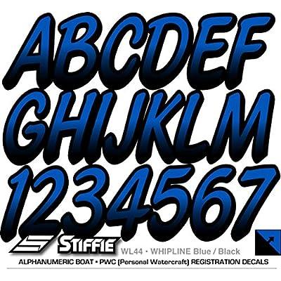 Stiffie Whipline Blue/Black 3
