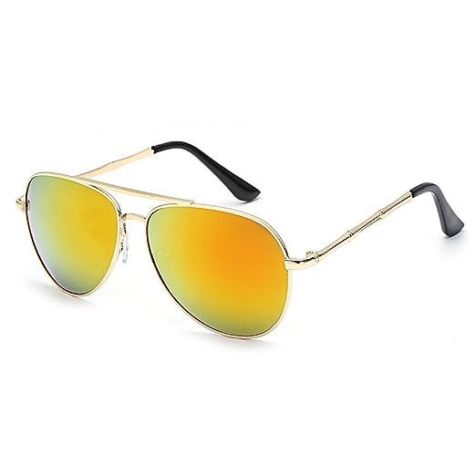 840c1aa69794c JJLIKER Men Women Aviator Sunglasses Polarized Mirrored Dark Blue Lens  Silver Frame UV 400 with Accessories Classic at Amazon Women s Clothing  store