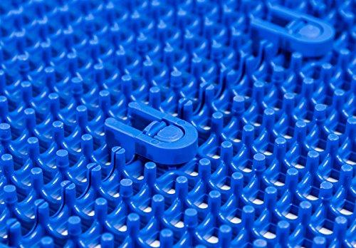 DuraGrid ST24GRAY Comfort Tile Interlocking Modular Multi-Use Safety Floor Matting (24 Pack), Gray, Piece by DuraGrid® (Image #3)