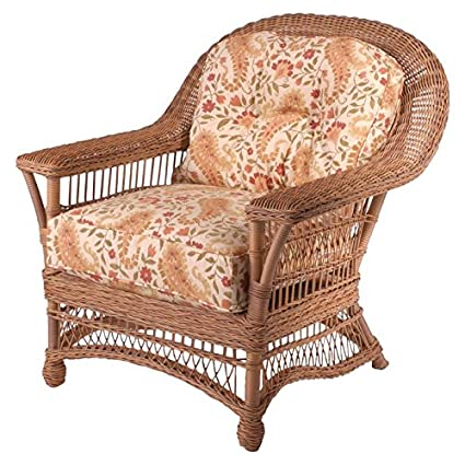 Whitecraft Cottage S587011, All Weather Outdoor Wicker Cushion Lounge Chair - Amazon.com : Whitecraft Cottage S587011, All Weather Outdoor Wicker