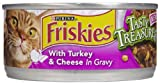 Friskies Tasty Treasures – Turkey and Cheese in Gravy – 24 x 5.5 oz, My Pet Supplies