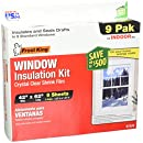 Frost King V73/9H Indoor Shrink Window Kit 42-Inch by 62-Inch, Clear