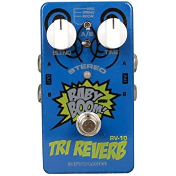 Biyang Rv-10 3-mode Stereo Reverb Guitar Effects Pedal Stereo-designed TRI Reverb