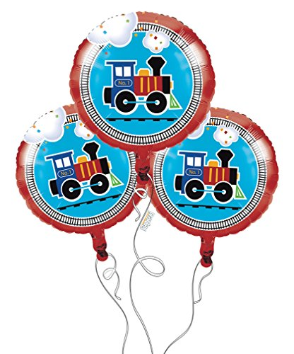 Top train balloons for party