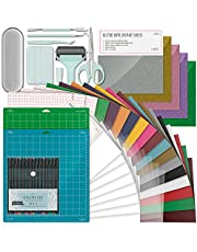 Ultimate Accessories Bundle Compatible with All Cricut Makers Incl. Explore Air/Joy - The All Incl. Tool Kit for Beginners or Skilled Craft Lovers - Perfect Bundle Pack to Enjoy Your Crafting Journey