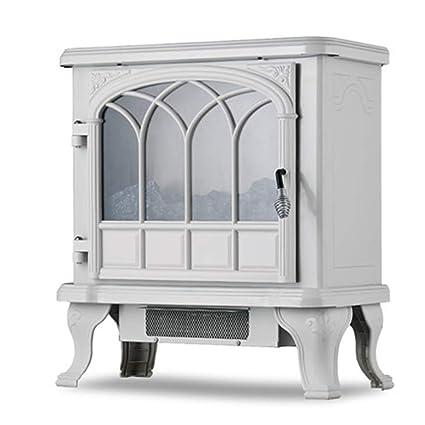 Heater LVZAIXI Calentador eléctrico de la Estufa, Efecto Calor, Blanco, 1850W - Lámpara