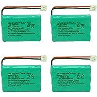 BAOBIAN 89-1323-00-00 27910 Cordless Phone Battery Compatible Vtech 27910 mi6803 I6725 Motorola SD-7501 RadioShack 23-959 Rechargeable (4 Pack)