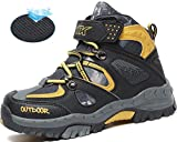 Littleplum AShion Boys & Girls' Hiking Shoes Outdoor Athletic Sneakers Breathable All Seasons Boots