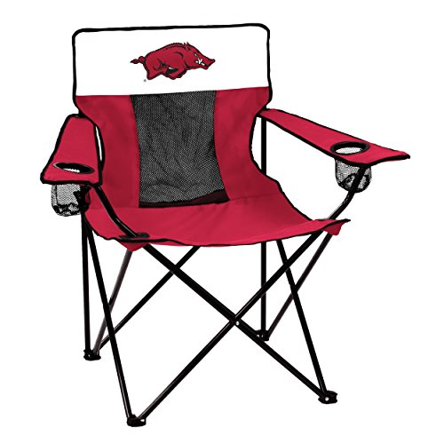 (Logo Brands 108-12E Collegiate Arkansas Razorbacks Elite Chair,)