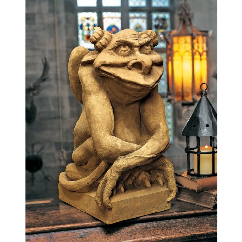 Design Toscano Oscar The Gargoyle with Attitude Statue Size: Medium