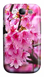 Pink Flowers Custom Samsung Galaxy S3 I9300 Case Cover ¨C Polycarbonate