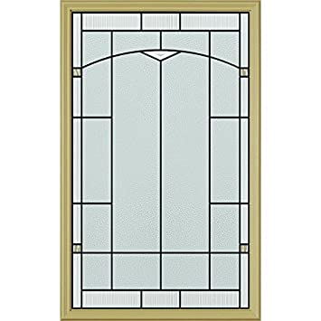 ODL Topaz Door Glass - 24\u0026quot; x 38\u0026quot; Frame Kit Patina Caming  sc 1 st  Amazon.com & ODL Topaz Door Glass - 24\
