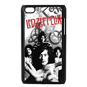 Custom Your Own Led Zeppelin Rock Band Ipod Touch 4 Case , Best Durable Led Zeppelin Ipod 4 Case