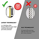 MalloMe-350-Lumen-SUPER-BRIGHT-4-Pack-Portable-Outdoor-LED-Camping-Lantern-Flashlights-with-12-AA-Batteries-Black-Collapsible