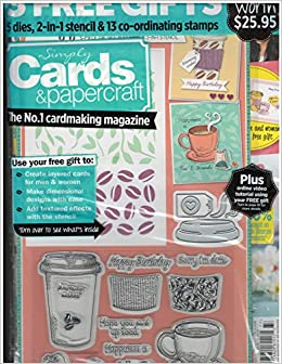 Simply Cards & Papercraft Magazine Issue 177 May 2018