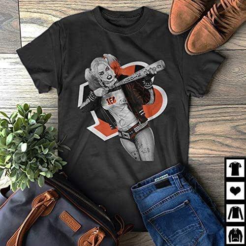 Amazon.com: Harley Quinn Cincinnati Bengals Fan Gift T