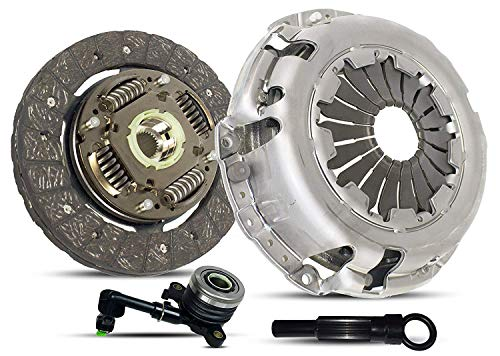 Clutch With Slave Kit Works With Nissan March Note Tiida Versa Advance Sense Drive Sr 1.6 S Plus 2009-2015 1.6L 1598CC l4 GAS DOHC Naturally Aspirated - Nissan Kit Clutch Pressure