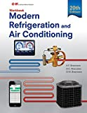 Modern Refrigeration and Air Conditioning Workbook by Alfred F. Bracciano (2016-07-18)