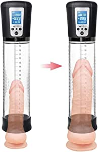 GOCQD Male Electric Pennǐs Vacuum Pump Enlargement Device Enlargers Extensǐon Pennǐs Pump Pênīsgrowth Training Device Increase Size Male System Enlarger Pëňnis GOCQD