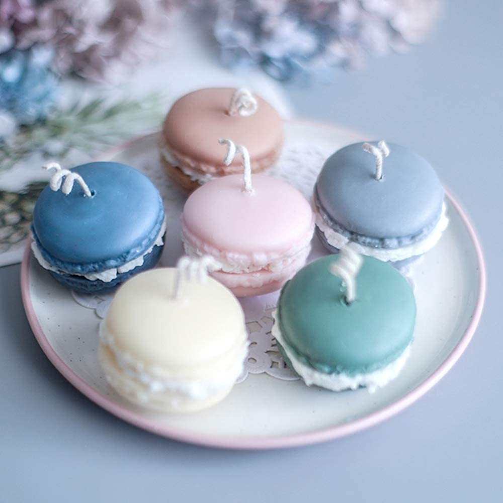 DIY Cupcakes Shape Silicone Mold Resin Candle Clay Soap Chocolate Candy Fondant