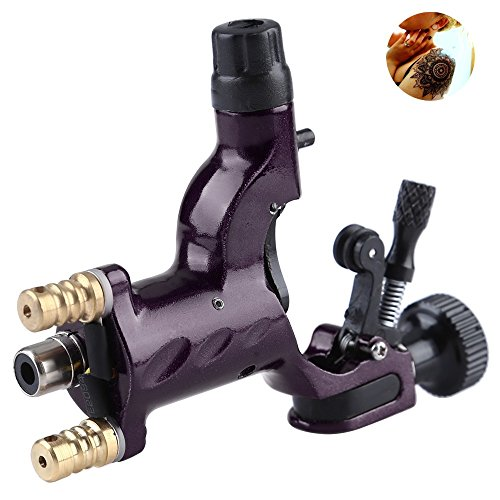 (Rotary Tattoo Machine Gun , SKM NEW Dragonfly Liner Shader Rotary Motor Tattoo Machines Supplies 1pcs Purple)