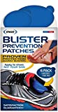 ENGO Oval Blister Prevention Patches (6 Patches) | Runners, Foot Pain, High Heels, Tennis Shoes, Athletes