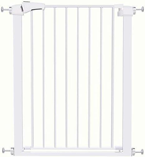 Puertas de seguridad para niños con puertas para mascotas Puertas extra anchas y altas para escaleras Cerca de la chimenea Parque de juegos para bebés Extensión de la puerta de seguridad par: