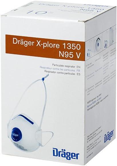 Partículas N95 Amazon De X-plore Dräger com Con Respirador 1350 -