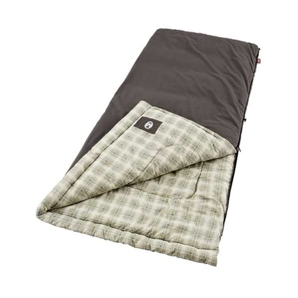 Coleman Big & Tall Sleeping Bag | 0°F Sleeping Bag | Heritage Cold-Weather Camping Sleeping Bag 4