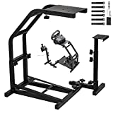 Cheap Gloria Racing Wheel Stand with V2 Support Game Support Stand Up Simulation Driving Bracket for Logitech G29, G27 and G25 Racing Simulator Steering Wheel Stand without Wheel and Pedals