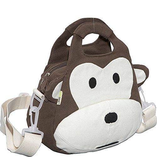 ecogear-ecozoo-kids-monkey-lunch-tote-brown-one-size