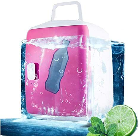 ZWH-ZWH 電気クールボックスカー冷蔵庫ポータブル冷凍庫ミニクーラー冷却し、Coolbox 12L大容量を温めます 車載用冷蔵庫