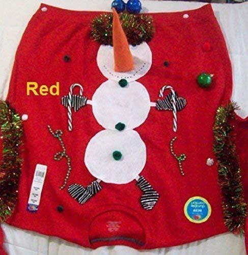New Ugly Christmas Sweater Sweatshirts Naughty Men Rednavy Blue Or