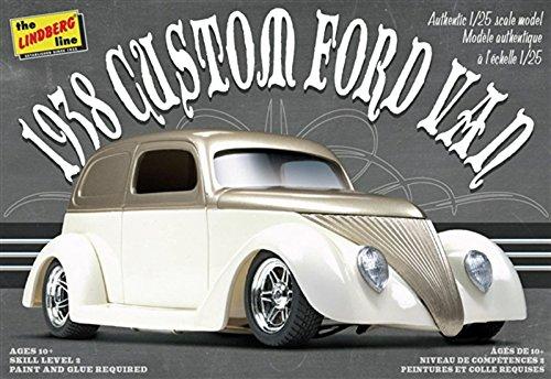 Ford Van Models - Lindberg Models 1:24 Scale 1938 Custom Ford Van Model Kit